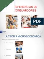 Semana 1 - Tema 1 Las Preferencias de Los Consumidores