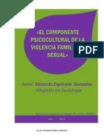 Articulo_ Componente Psicocultural de La Violencia Eduardo Espinoza