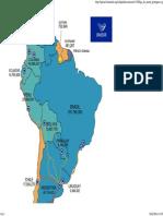 Mapa Do Unasul Portugues