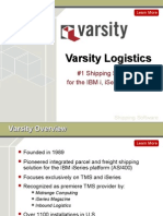 Shipping Software with Varsity Logistics