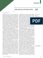 2013 - Sachs - Lancet - 1 Million CHWs in SSA by 2015