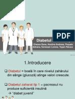diabet zaharat tip 1
