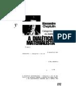 Cheptulin, Alexandre - Dialética materialista. Categorias e leis da dialética.pdf