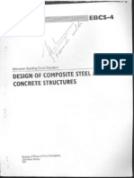 EBCS 4-Design of Composite Steel & Concrete Structures