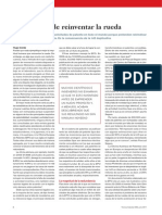 3 - El Derroche de Reinventar La Rueda