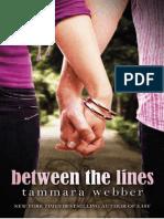 Tammara Webber - [Between the Lines 01] - Between the Lines