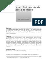 Adeodato. O Positivismo Culturalista Da Escola Do Recife