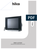 Manual Com Esquema Tv Philco Mod. Ph 21b Versão A