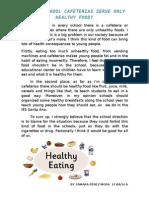 Eating Helathy Food