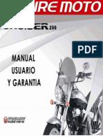 Manual de Usuario Empire Cruiser 250 2010