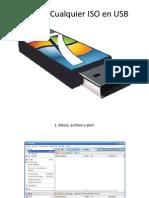Instalar Cualquier ISO en USB