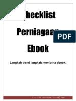 Senarai Semak Perniagaan eBook