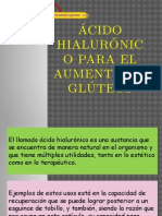 Ácido Hialurónico Para El Aumento de Glúteos