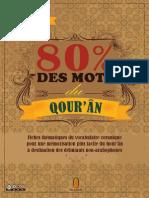 80 % des mots du Qour'ân