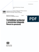 Contabilidad Ambiental ONU SeriesF_78S