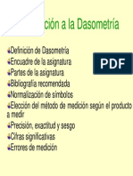 Introduccion a La Dasometria