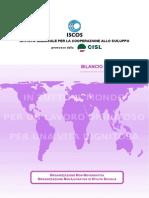 Bilancio Sociale 2013 di ISCOS-CISL