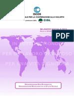Bilancio Sociale 2013 - Allegato Progetti - Iscos Cisl