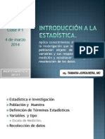 Estadística, Población, Muestra y Variable