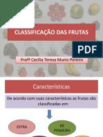 Classificação Das Frutas