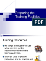 Session 1-Preparing the Training Facilities.ppt