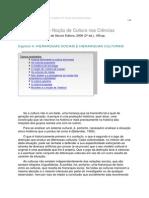A Noção de Cultura Nas Ciencias Sociais. Resumo
