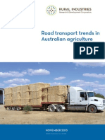 Road Transport Trends in Australian Agriculture