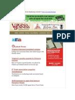 Virginia Business Newsletter