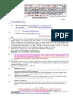 20140507-G. H. Schorel-Hlavka O.W.B. to Mr Joe Hockey and Mr Tony Abbott PM- Etc