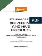 DI Bee Stds Demeter Biodynamic 12-e