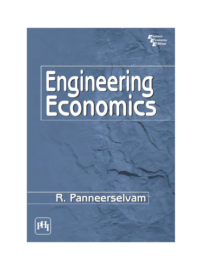 engineering economy Industrial engineering engineering economy review 2 main concepts n models are approximations of reality (think) n time value of money, cash flow diagrams, and.