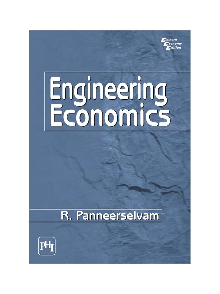 Economy pdf engineering