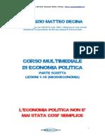 Corso Multimediale Di Economia Politica Parte Scritta Lezioni 1 10 MICROECONOMIA1