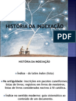 1.1 História Da Indexação
