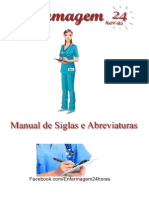 Manual de Siglas