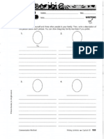 Scanned Writing Activities