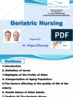 2014-Bridging Courses-Introduction to Geriatric Nursing