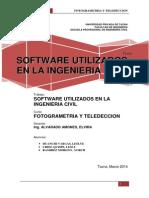 Software Utilizados en La Ing. Civil