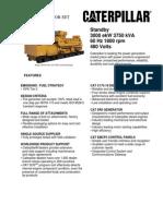 Grupos Electronicos Diesel Cat Nc175!16!3000ekw Standby Lowbsfc