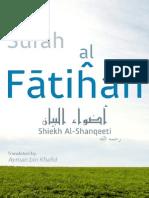 Surah Al Fatihah ( Tafseer )