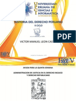 185462039_quinta Semana - Historia Del Derecho Peruano