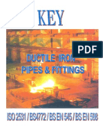 Key - Ductile Iron Pipes & Fittings Catalogue