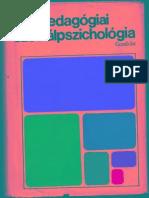 Pataki Ferenc Pedagogiai Szocialpszichologia
