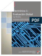 Electrónica 1. FET