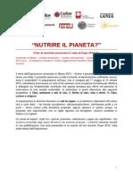 Nutrire Il Pianeta Call for Paper(1)