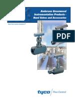AGCO  Instrumentation hand valves