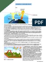 Acção da atmosfera sobre a radiação solar (10.º)