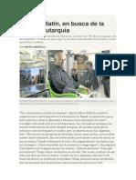 Mauro Libertella - Mario Bellatin, En Busca de La Soñada Autarquía.