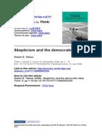 Skepticismandthedemocraticideal