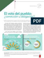 El voto del pueblo